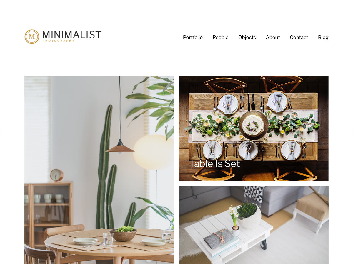 Minimalist Portfolio Preview Wordpress Theme - Rating, Reviews, Preview, Demo & Download