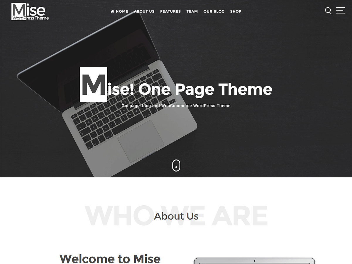 Mise Preview Wordpress Theme - Rating, Reviews, Preview, Demo & Download