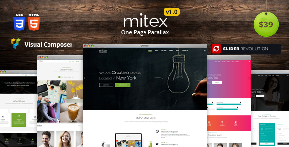Mitex Preview Wordpress Theme - Rating, Reviews, Preview, Demo & Download
