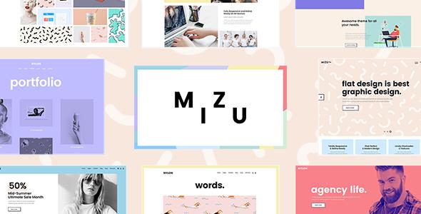 Mizu Preview Wordpress Theme - Rating, Reviews, Preview, Demo & Download