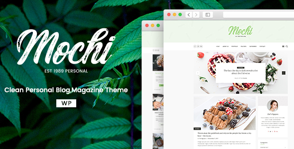 Mochi Preview Wordpress Theme - Rating, Reviews, Preview, Demo & Download