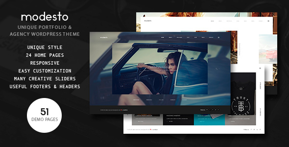 Modesto Preview Wordpress Theme - Rating, Reviews, Preview, Demo & Download
