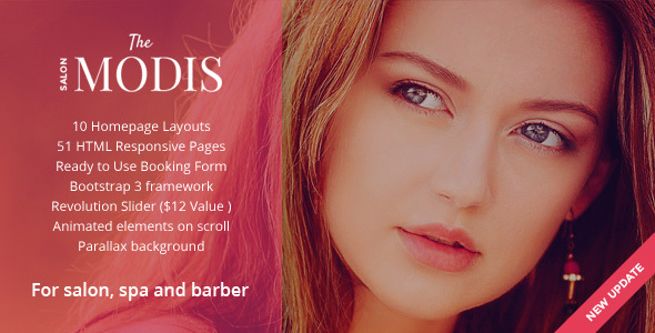 Modis Preview Wordpress Theme - Rating, Reviews, Preview, Demo & Download