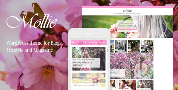 Mollie Preview Wordpress Theme - Rating, Reviews, Preview, Demo & Download