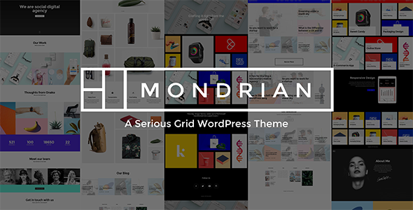 Mondrian Preview Wordpress Theme - Rating, Reviews, Preview, Demo & Download