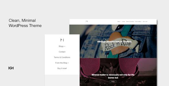 Monika Preview Wordpress Theme - Rating, Reviews, Preview, Demo & Download