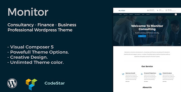 Monitor Preview Wordpress Theme - Rating, Reviews, Preview, Demo & Download