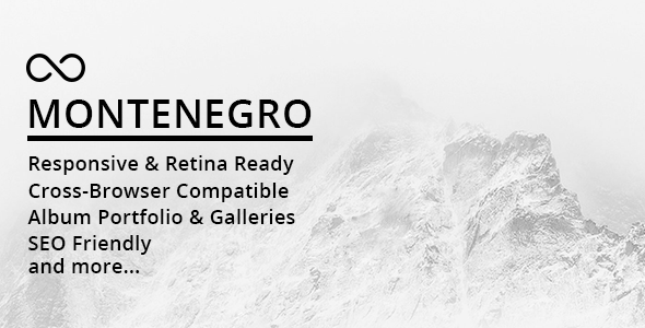 Montenegro Minimal Preview Wordpress Theme - Rating, Reviews, Preview, Demo & Download
