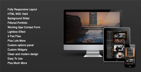 Moot Responsive Preview Wordpress Theme - Rating, Reviews, Preview, Demo & Download