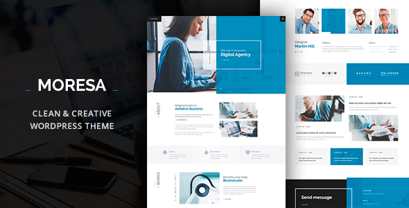 Moresa Preview Wordpress Theme - Rating, Reviews, Preview, Demo & Download