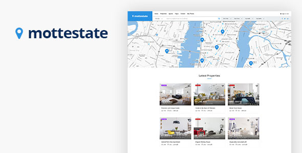 Mottestate Preview Wordpress Theme - Rating, Reviews, Preview, Demo & Download