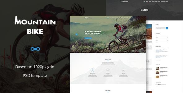 Mountain Bike Preview Wordpress Theme - Rating, Reviews, Preview, Demo & Download