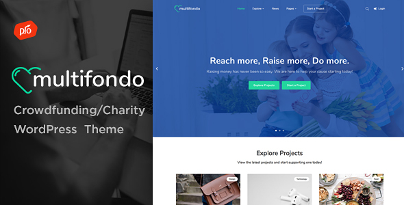 Multifondo Preview Wordpress Theme - Rating, Reviews, Preview, Demo & Download