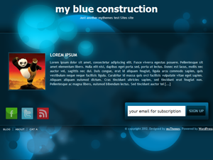 My Blue Preview Wordpress Theme - Rating, Reviews, Preview, Demo & Download