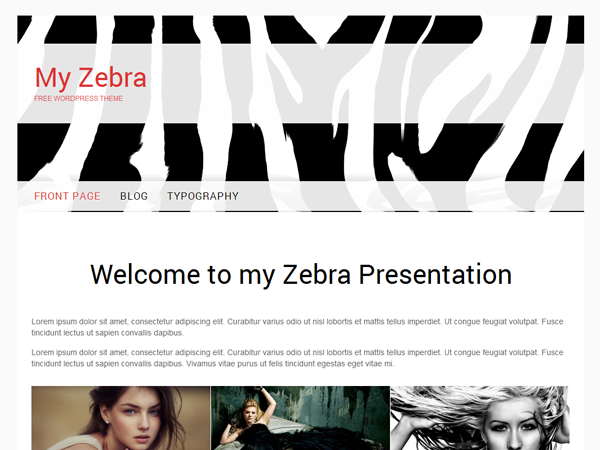 My Zebra Preview Wordpress Theme - Rating, Reviews, Preview, Demo & Download