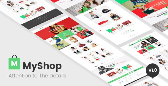 MyShop Preview Wordpress Theme - Rating, Reviews, Preview, Demo & Download