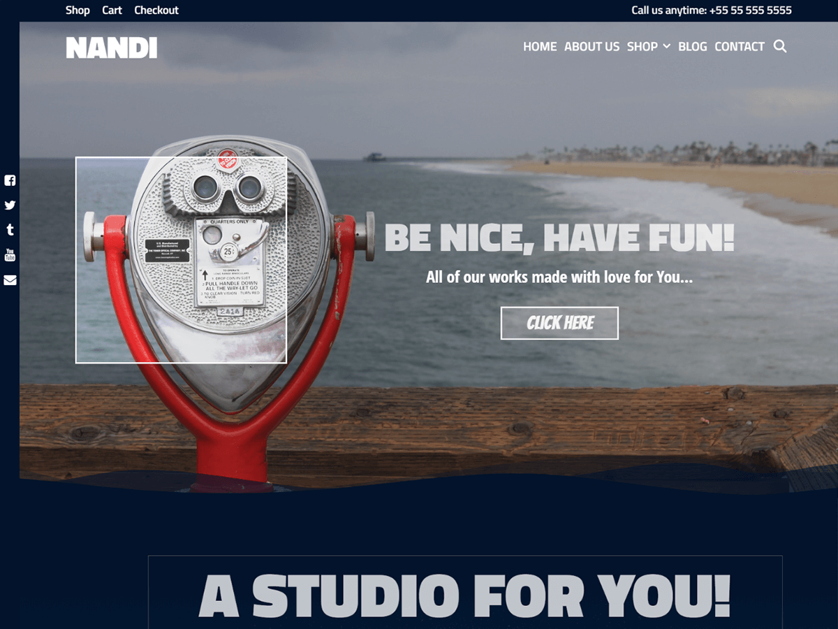 Nandi Preview Wordpress Theme - Rating, Reviews, Preview, Demo & Download