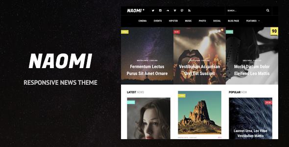 Naomi Preview Wordpress Theme - Rating, Reviews, Preview, Demo & Download