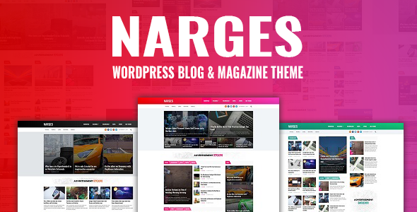 Narges Preview Wordpress Theme - Rating, Reviews, Preview, Demo & Download