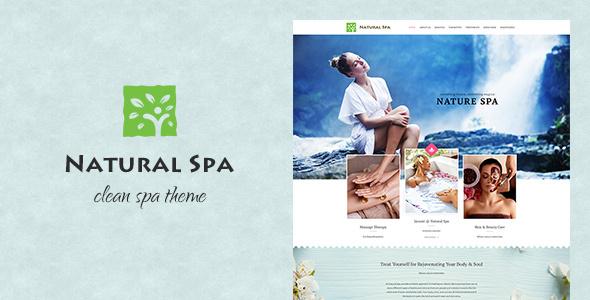 Natural Spa Preview Wordpress Theme - Rating, Reviews, Preview, Demo & Download