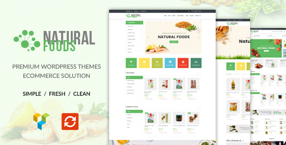 NaturalFood Preview Wordpress Theme - Rating, Reviews, Preview, Demo & Download