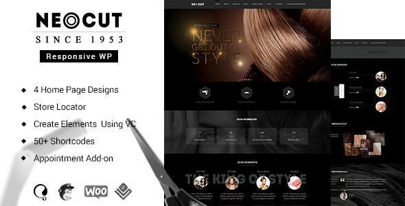 Neo Cut Preview Wordpress Theme - Rating, Reviews, Preview, Demo & Download