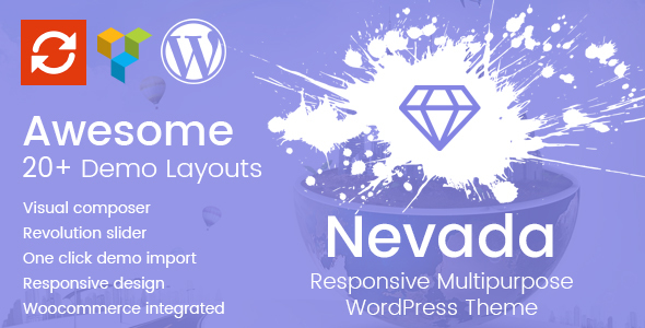 Nevada Preview Wordpress Theme - Rating, Reviews, Preview, Demo & Download