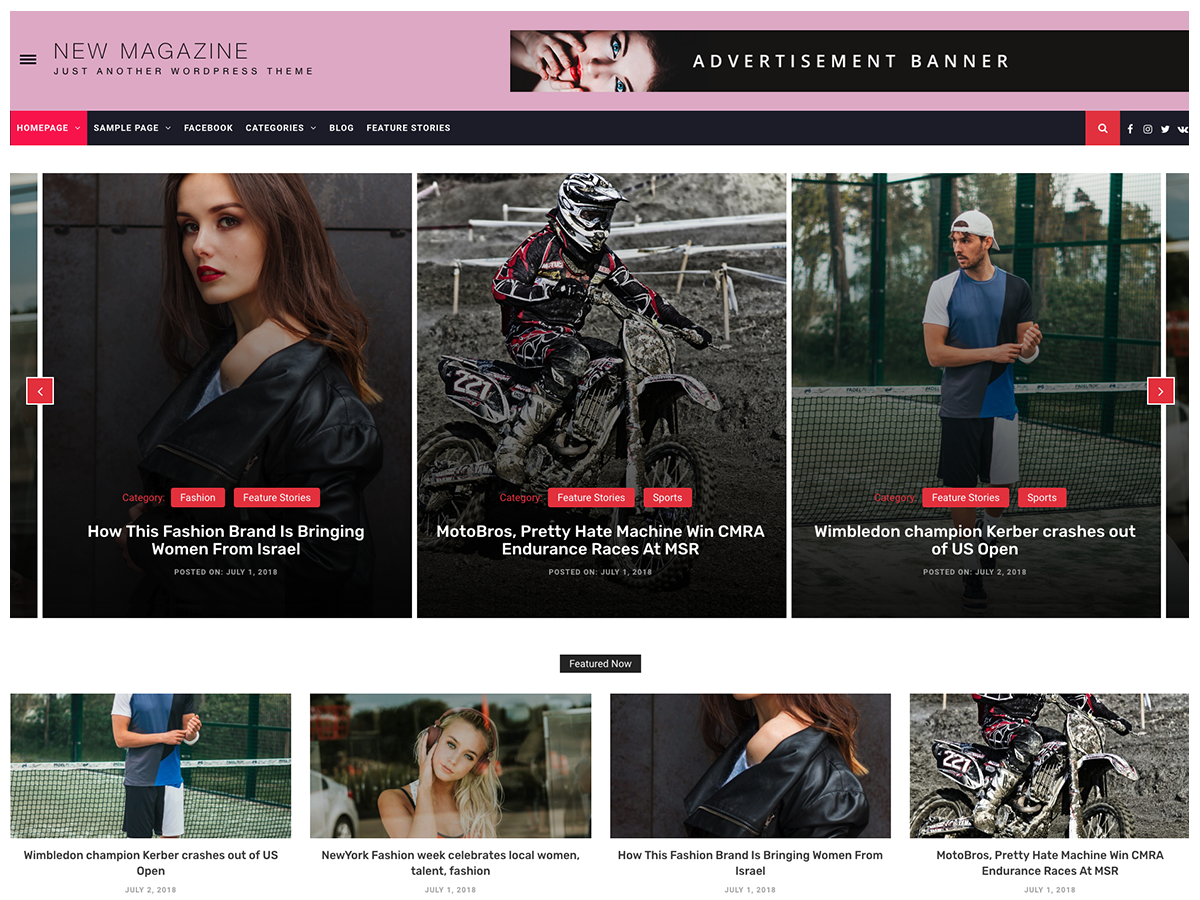 New Magazine Preview Wordpress Theme - Rating, Reviews, Preview, Demo & Download