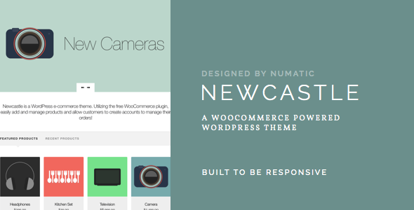 Newcastle Preview Wordpress Theme - Rating, Reviews, Preview, Demo & Download