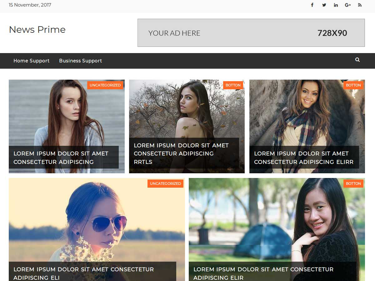 News Prime Preview Wordpress Theme - Rating, Reviews, Preview, Demo & Download
