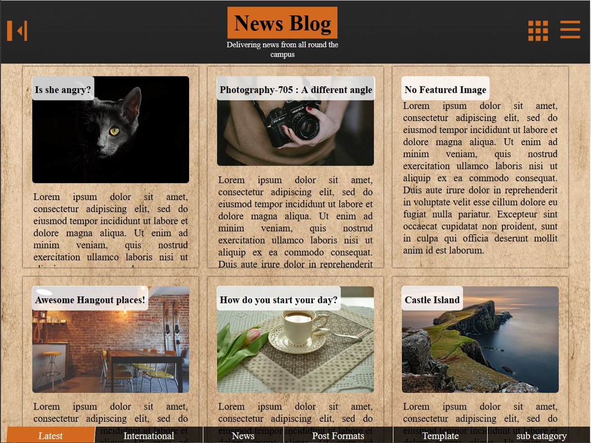 News Site Preview Wordpress Theme - Rating, Reviews, Preview, Demo & Download