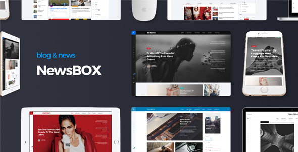 Newsbox Preview Wordpress Theme - Rating, Reviews, Preview, Demo & Download