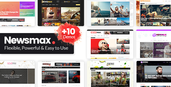Newsmax Preview Wordpress Theme - Rating, Reviews, Preview, Demo & Download