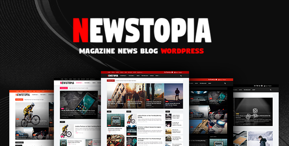 Newstopia Preview Wordpress Theme - Rating, Reviews, Preview, Demo & Download