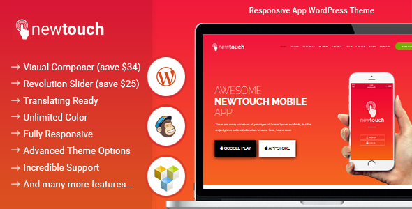 Newtouch Preview Wordpress Theme - Rating, Reviews, Preview, Demo & Download