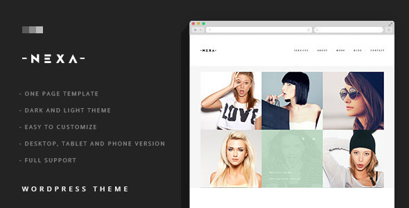 NEXA Preview Wordpress Theme - Rating, Reviews, Preview, Demo & Download