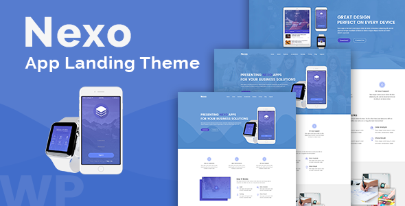 Nexo Preview Wordpress Theme - Rating, Reviews, Preview, Demo & Download