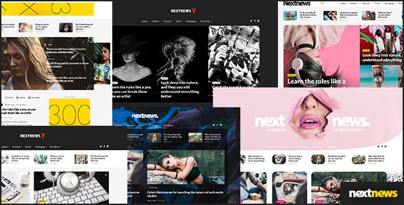 NextNews Preview Wordpress Theme - Rating, Reviews, Preview, Demo & Download