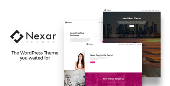 Nexx Preview Wordpress Theme - Rating, Reviews, Preview, Demo & Download