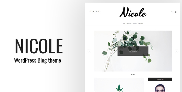 Nicole Preview Wordpress Theme - Rating, Reviews, Preview, Demo & Download