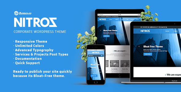 Nitroz Preview Wordpress Theme - Rating, Reviews, Preview, Demo & Download