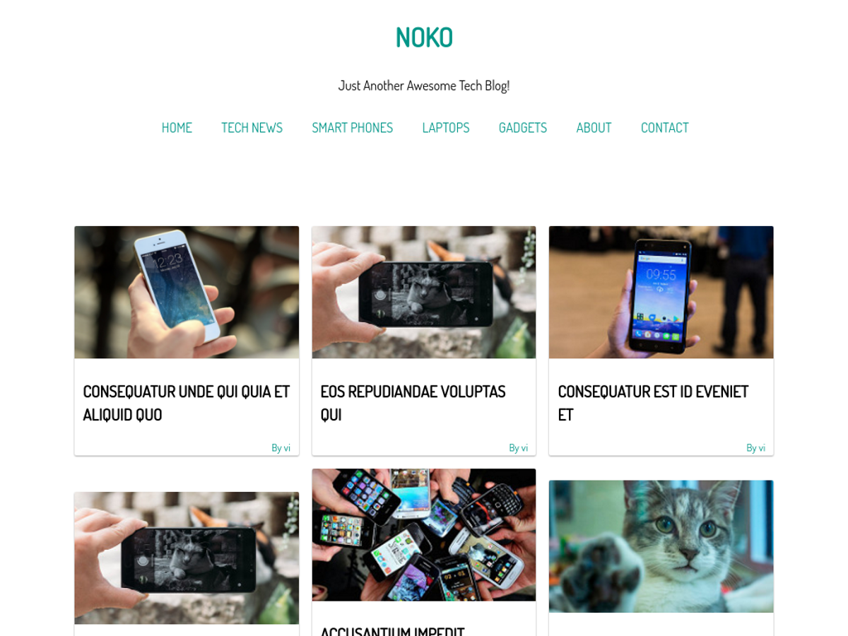 Noko Preview Wordpress Theme - Rating, Reviews, Preview, Demo & Download