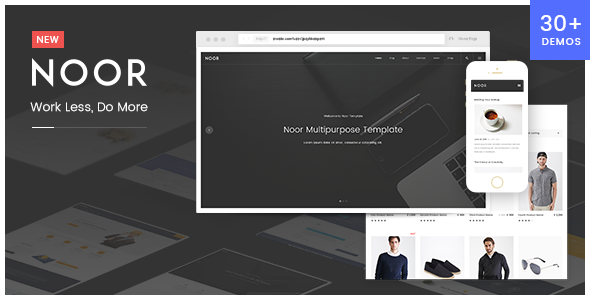 Noor Preview Wordpress Theme - Rating, Reviews, Preview, Demo & Download