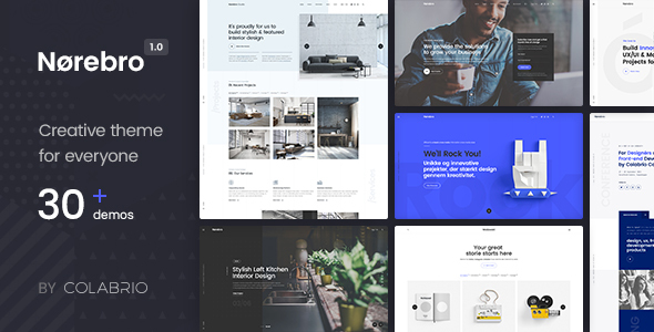 Norebro Preview Wordpress Theme - Rating, Reviews, Preview, Demo & Download