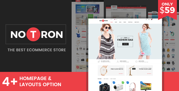 Notron Preview Wordpress Theme - Rating, Reviews, Preview, Demo & Download