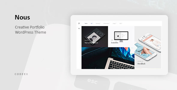 Nous Preview Wordpress Theme - Rating, Reviews, Preview, Demo & Download