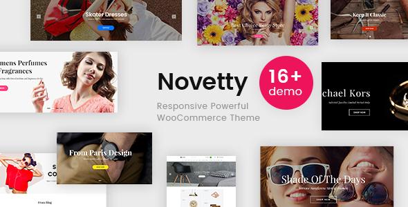 Novetty Preview Wordpress Theme - Rating, Reviews, Preview, Demo & Download