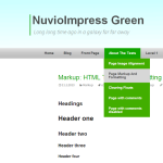 NuvioImpress Green