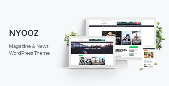 NYOOZ Preview Wordpress Theme - Rating, Reviews, Preview, Demo & Download