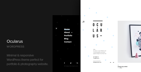 Ocularus Preview Wordpress Theme - Rating, Reviews, Preview, Demo & Download